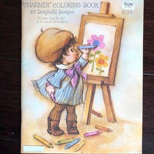 Charmers vintage coloring book